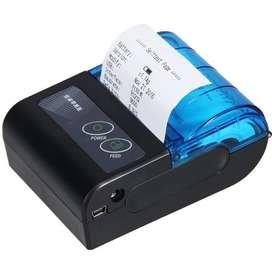 IMPRESORA TICKETERA PORTATIL 57MM USB BLUETOOTH BATERIA MINI