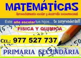 Profesor de Matematicas, Fisica Y Quimica