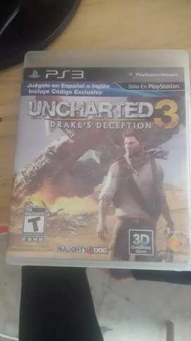 Uncharted 3 ps3 fisico edicion limitada
