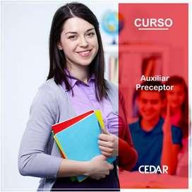 CURSO AUXILIAR PRECEPTOR
