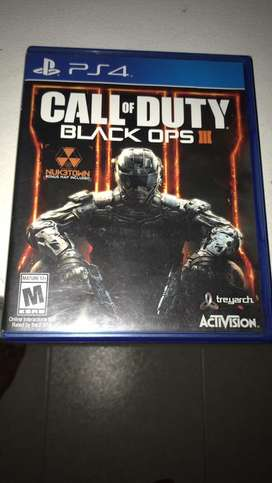 CALL OD DUTTY BLACK OPS 3 PS4