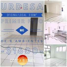 Urdesa Central Primer piso 330m² alquilo para  oficina o local