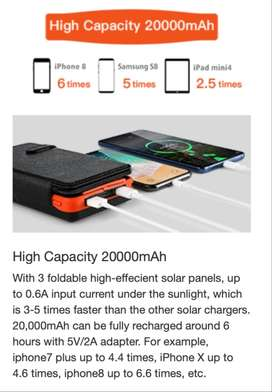 battery pack con paneles solares