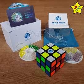 Cubo Rubik Gan 356 X Numerical Magnetico Original Negro