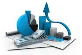 asesor experto en finanzas y trabajos de contabilidad
