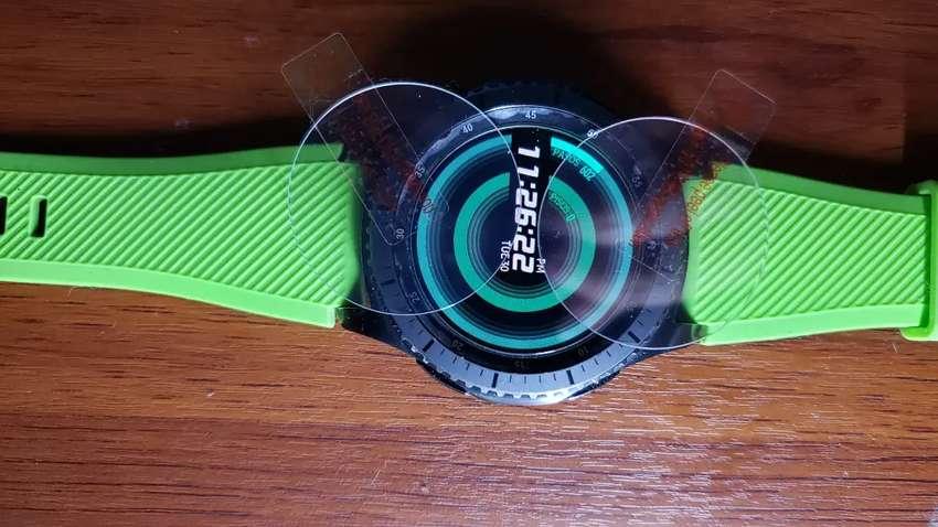Gear S3 VIDRIO Templado Protector 0