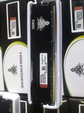 RAM ddr3 4gb 12800 pc blindada
