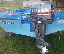 Lancha fishin 430, Yamaha 25 modelo 2.010