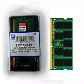 Memoria RAM DDR4 DE 8 GB