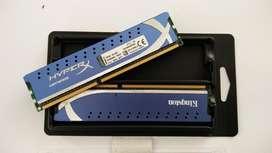 RAM PC Kingston HyperX Genesis DDR3 8GB 1333Mhz segunda mano  Perú