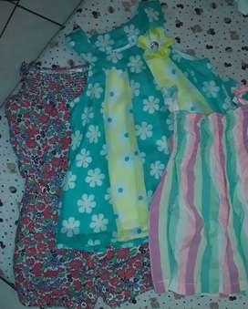 Pack x 3 (enterizo y 2 blusas Carter's talla 24 meses