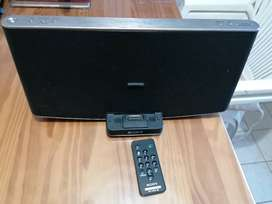 Parlante Sony Audio Docking System Rdp-x200ip Con Bluetooth