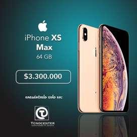iPhone XS Max 64GB, GARANTÍA 1 AÑO DIRECTA Apple, TIENDA FÍSICA, nuevos, sellados, libres. Los Esperamos.