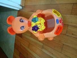 Juguete canguro para bebés y niños