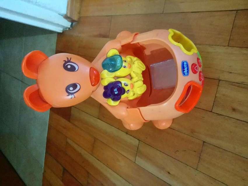Juguete canguro para bebés y niños 0