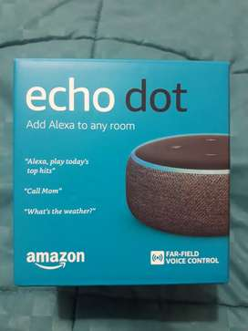 ECHO DOT AMAZON ALEXA 3ra generacion