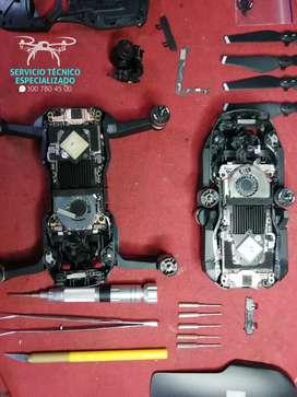 Reparación especializado de drones