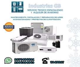 Instalación Y Manténimiento de aires acondicionados