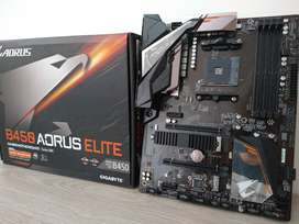 POTENTE BOARD B450 AORUS ELITE RGB
