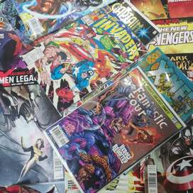Comics de dc y marvel