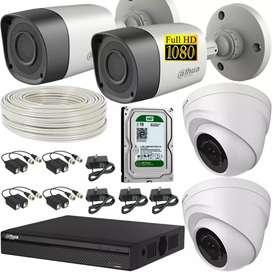 Venta e instalación de cámaras de seguridad a el mejor precio