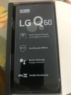 CELULAR LG Q60 NUEVO EN CAJA ORIGINAL GARANTIA