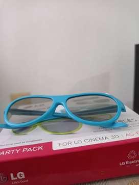 Gafas cinema 3D