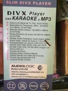 Reproductor De Dvd Audiologic Divx  Cd Mp3 Jpegd karaoke
