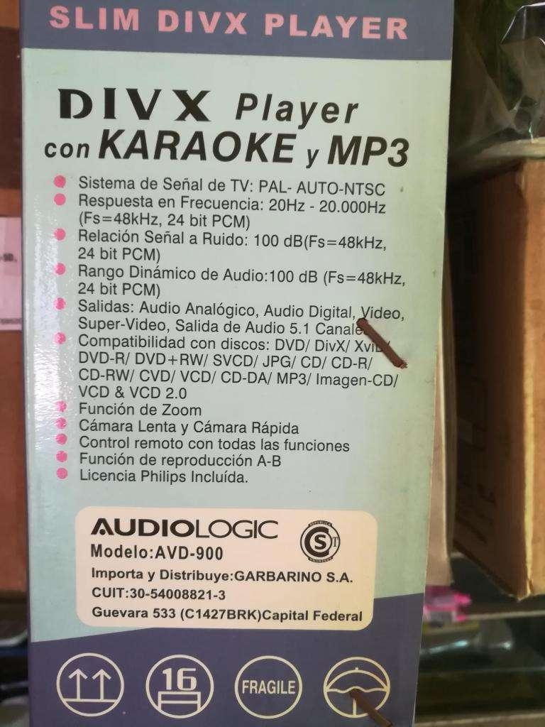 Reproductor De Dvd Audiologic Divx  Cd Mp3 Jpegd karaoke 0