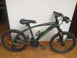 Bicicleta mtb número 20