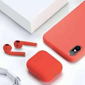Audífonos Bluetooth i12 tws, compatibles con Apple y Android!!
