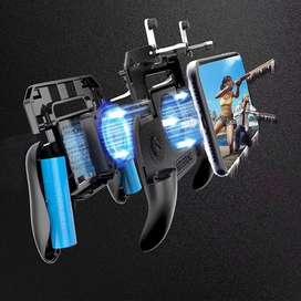 Control Gamepad Free Fire Con Gatillos Y Ventilador 2000mah