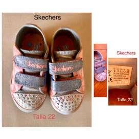 Zapatos skechers originales niña