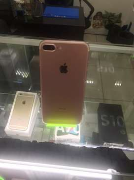 Iphone 7plus de 128 GB rosado en perfecto estado