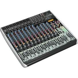 Consola Behringer XENYXQX2222USB Mezclador audio