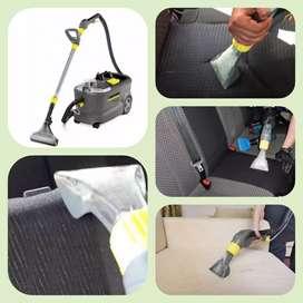 Lavado limpieza de tapizados