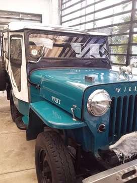 Vendo jeep willys en excelente estado