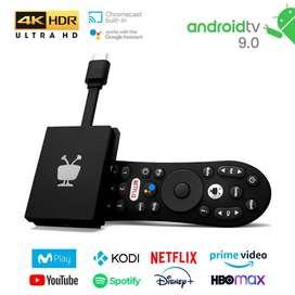 Adaptador Tivo Stream Tv Box 4K Chromecats USA