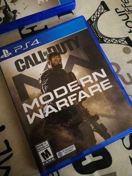 Call of Duty Modern Warfare. PS4