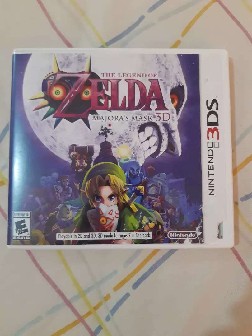 The Legend of Zeld Majora's Mask 3ds 0