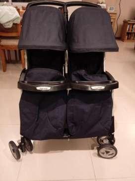 Coche Doble Peg Perego Aria Twins