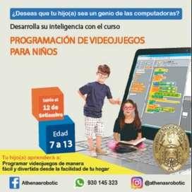 TALLER DE PROGRAMACIÓN DE VIDEOJUEGOS