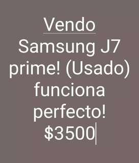 Vendo Samsung J7 Prime! (Usado)