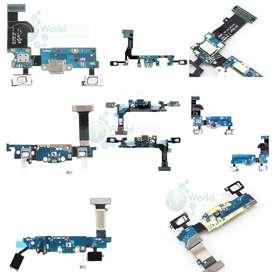 Flex De Carga Microfono Samsung S5 S6 S7 S7 Edge Mini J A 16