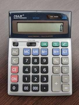 Calculadora Duo Power 16 Dígitos Max Electronics MX-D406