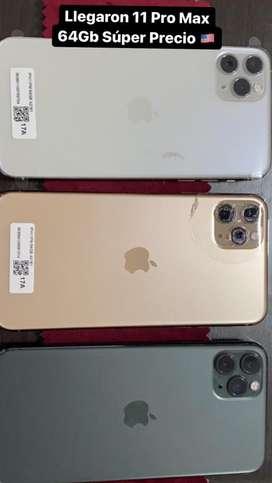 Iphone 11Pro Max 64Gb Semi Nuevos Colores Disponibles