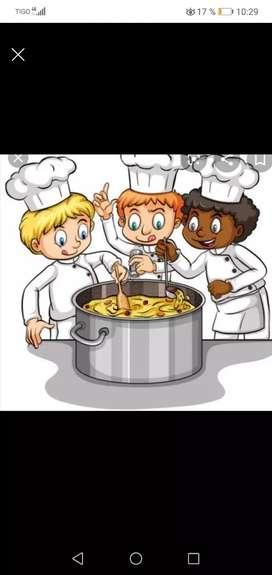 Cocinera con experiencia