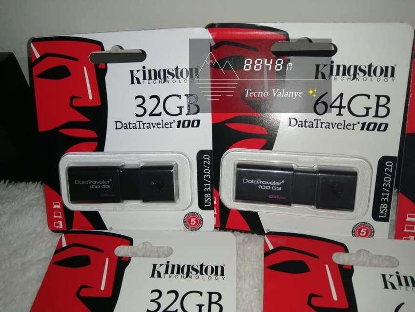Memorias USB kingston 3.0 32 gb