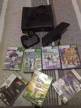 Vendo Xbox 360 con kinect