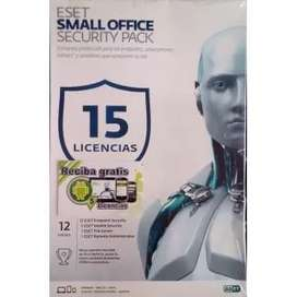 Eset Small Office Security Pack 15 Licencias 12 Meses